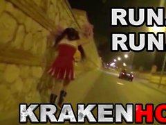 Krakenot - Milf provocante na voyeur vídeo ao ar livre