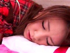 Japonesa peludas en la webcam