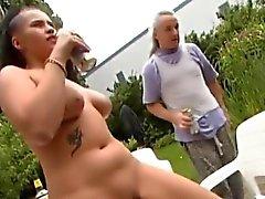 german chubby wife needs deep anal