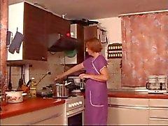 Mutfak Olgun Parmaklı Spanked & fuked xLx