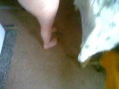 Ваня голый на кухне 2