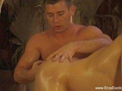 Härlig och intim Anal Massage