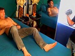 Tristan Mathew and Jason Crew are shooting a home porn