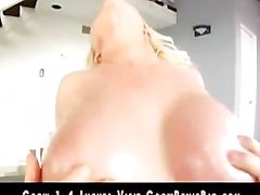 Blond Bimbo Angel Vain With Huge Tits Gets Fucked Good 2