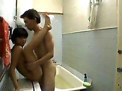 Dilettanti petite asian ragazza adolescente kazakh e il russo ragazzo pt2