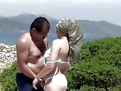 Sahin k vs turkish girl outdoor