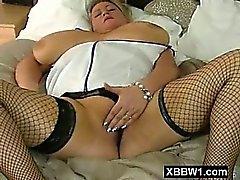 Bodacious Titty Mature BBW Fucked Furiously