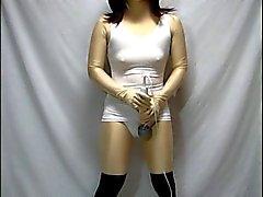 kigurumi traje de baño de vibración