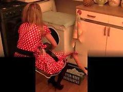 Cozinha peludas whisk e inserção garrafa extrema