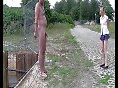 Deutsch mageren Teenager Parkplatz kleine Brüste Sperma müssen sehen,