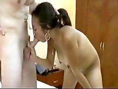 Sandra - Filippiiniläiset tytöt ottaa iso valkoinen Dicks