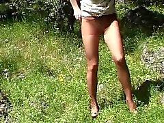 Kiimainen Strumpfhosen Sau chat puutarhat