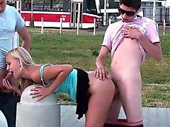 Pésima adolescentes PÚBLICA de la calle ORGY orgia sexual Part 3