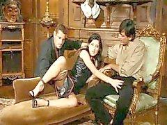 Tiffany Hopkins slutty threesome & DP