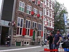 Prostituta holandesa obtiene cum
