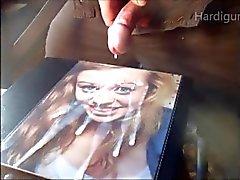 Super esguicho de creamy faciais porra came de de Jill dois