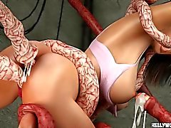 Tentacle Monsters Baise Celeb Ultimate 3D Porno Cartoons