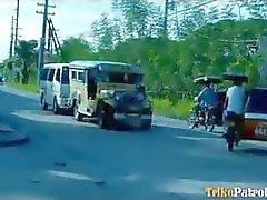 Hombre promedio turística entrega su el primer video sexo de la filipina