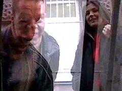 MENINA HOT N104 francês morena em gangbang anal dp