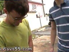 Brasileño desnudo al aire libre películas gay primera vez Busted en