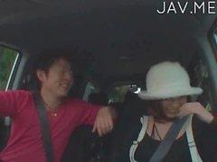 Азиатская машина пьяные