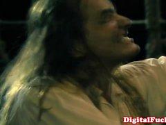 Jesse Jane close up in a ffm threeway