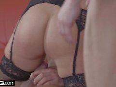 Glamkore - Euro Beauty Nikky Sonho DP Threesome Surprise
