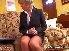 Hot Blonde Milf op verborgen Cam Fucked