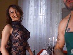 CastingAllaItaliana - Hardcore chatte et ass fuck avec chaud italienne amateur babe lors de la fonte