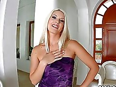 Stunning bushy blonde gets anal creampie on Asstraffic
