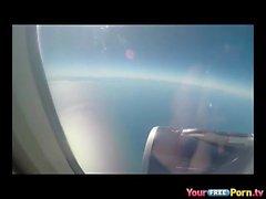 Blasen auf einem Flugzeug