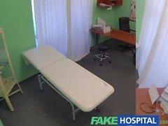 FakeHospital Blonde turistik tam muayene olur