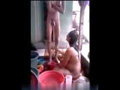 Indonesia - embarazadas de mierda la esposa del Indo con el marido