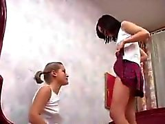 Petite Schülerin Spaß