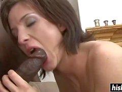 Petra Davis ama a un pastel de crema anal
