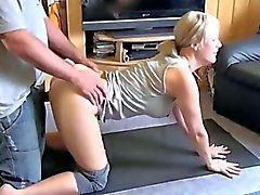 amateur francesa hot follado durante el yoga