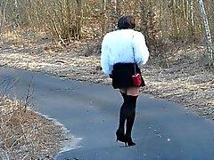 shop einem Spaziergang