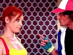 Misty and Pikachu take on Ash's Pokeballs - Pokemon Parody