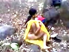 Mallu Lover Ryhmä Fucked Outdoors