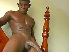 Grote zwarte lul dong