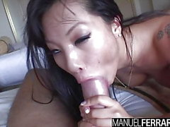 Asa Akira In Solo Mile High Club And More!