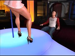 Shemale Strip Club - Horny 3D anime sex movies