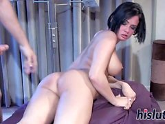 Intense anal session with slutty Tory Lane