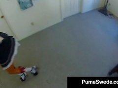 Грудастая блондинку Puma швед ли кудрявый Voyeur SpyCam порно видео!
