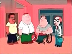 Anime Family Guy krijgt zijn pik spullen in kont zijn roodharige vrouw
