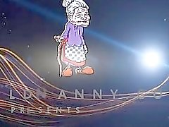 OldNanny Old skinny woman with strapon pretty girl