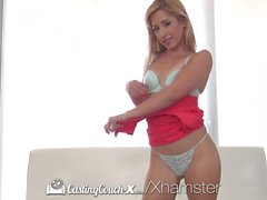 CASTINGCOUCH-X Petite amateur Goldie shows her fucking skill