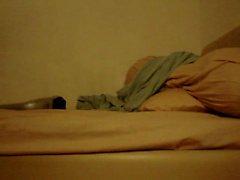 Bir masaj ile Cumming sarımsı kahverengi Asian bir adam
