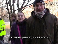 Another freezing morning in Prague. I tried my luck at a