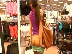 Michele Dances Sensually Naakt Meisje Heet